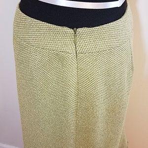 Versailles Skirts - 🍃Versailles Green Textured Skirt